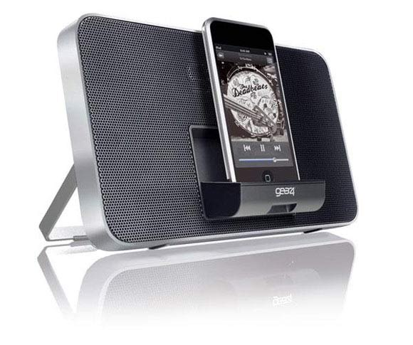 enceinte ipod iphone gear4 duo facade