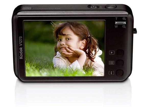appareil photo compact à ecran tactile kodak easyshare v1273