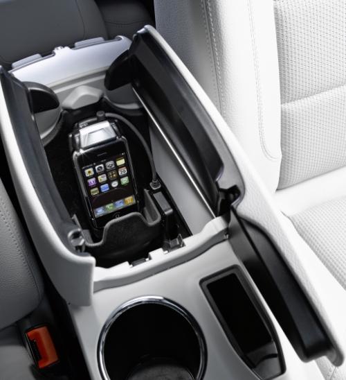 iPhone Mercedes