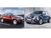 Duel improbable : BMW X6 contre Renault Koleos