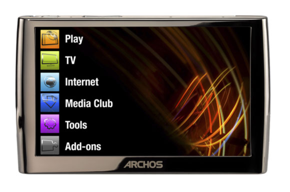 baladeur multimedia archos 5