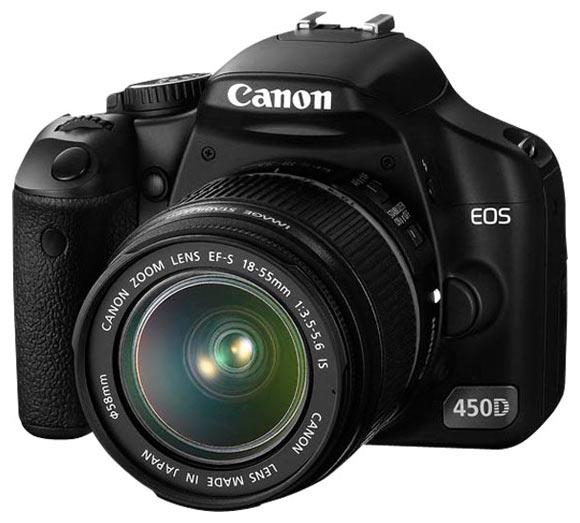 reflex canon eos 450d