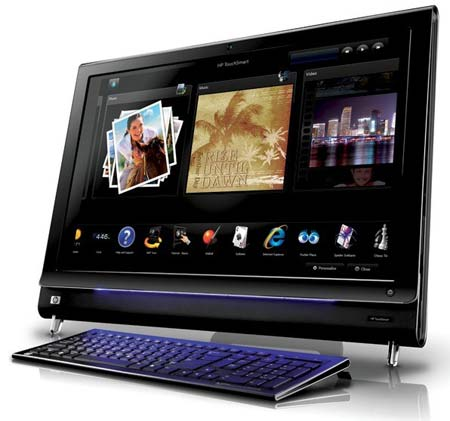 PC tout-en-un HP touchsmart iq800