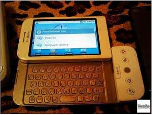 HTC dream sous Google Android