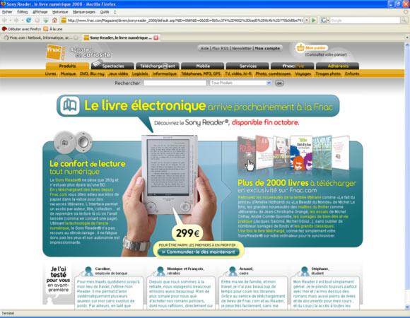 fnac offre livre electronique