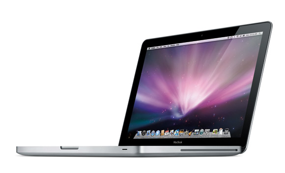 apple macbook aluminium LED