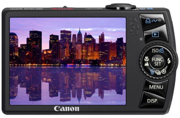 canon ixus 870 is dos