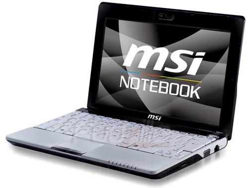 Netbook MSI Wind U120