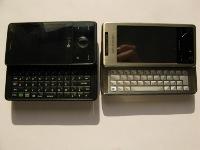 Face à face Sony Ericsson Xperia X1 contre HTC Touch Pro