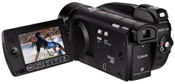 camescope hd avchd canon hg21