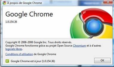 Chrome version définitive