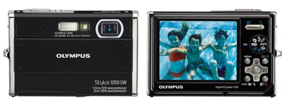 appareil photo etanche olympus mju 1050 sw