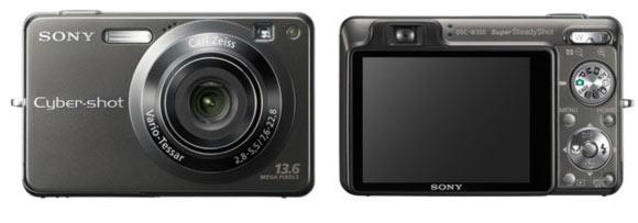 sony dsc-w300 appareil photo compact