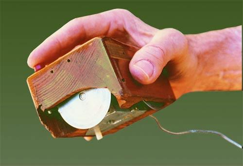 Prototype souris mise au point par Douglas Engelbart