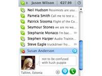 Skype pour Mac en avance sur les autres versions