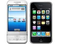 Face à face : HTC Dream vs Apple iPhone 3G