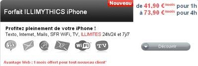 ILLIMYTHICS pour iPhone