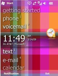 Nouveautés Windows Mobile 6.5