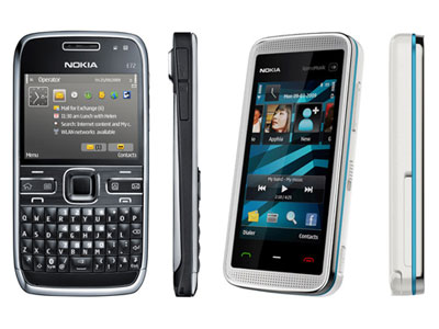 Nokia E72 et Nokia 5530