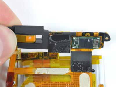 capteur photo dans ipod touch