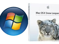 Face à Face : Windows 7 vs Mac OS X Snow Leopard