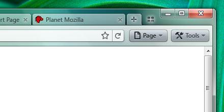 Firefox 4 interface et barre d'outils