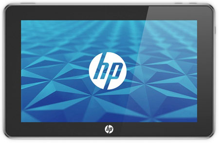 Tablette HP Microsoft sous Windows 7