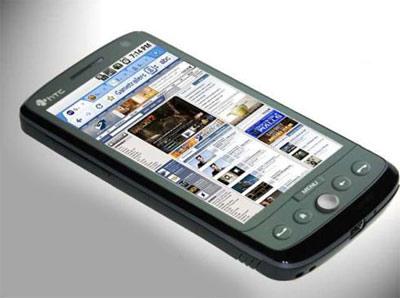 HTC Diamond 3 nom de code obsession