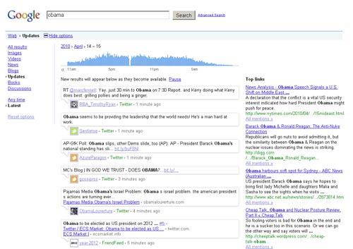 Google archive Twitter