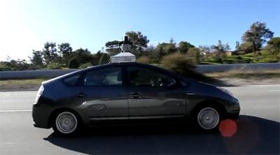 Google Car automatique
