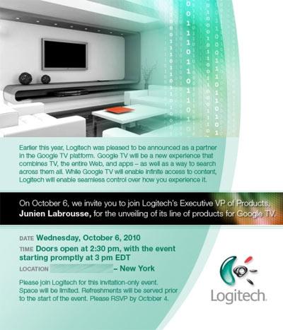 Logitech Revue boitier Google TV