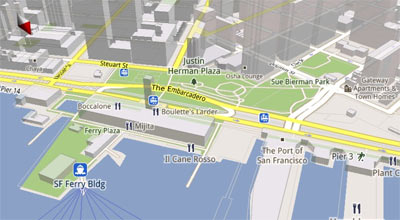 Google Maps 5.0 pour Android