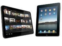 iPad 2 iOS 4.3 vs Android Honeycomb : le test de rapidité