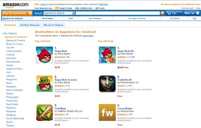 Amazon Appstore Android