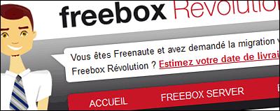 Outil de suivi non officiel Freebox V6