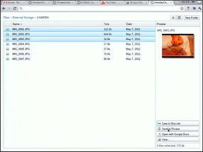 Navigateur Chrome OS