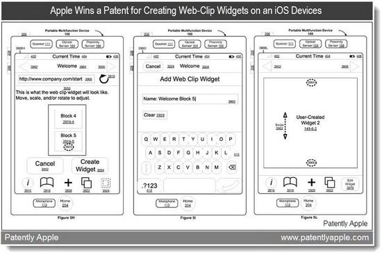 Clavier iOS brevet