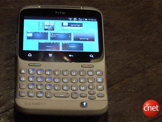HTC ChaCha : la prise en main du