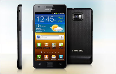 Le Samsung Galaxy S2 sous Android