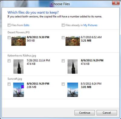 Gestionnaire fichiers Windows 8