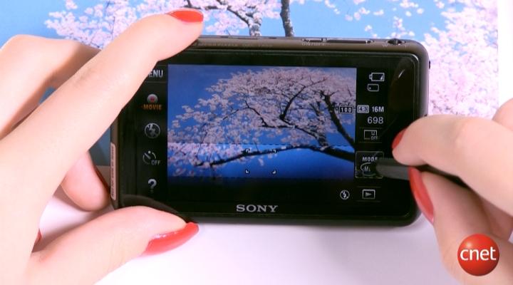 Démo produit : Sony cyber-shot TX55