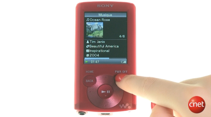 Démo produit : Sony NWZ-E363