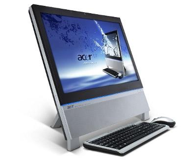 Acer Aspire Z5762 et son clavier de côté