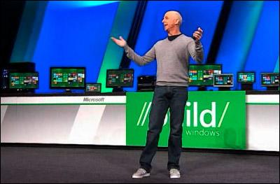 Steven Sinofsky présente Windows 8