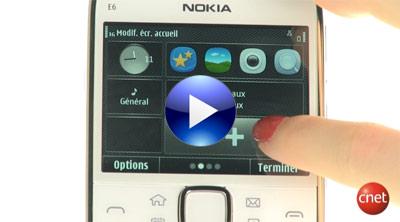 Nokia E6 vidéo