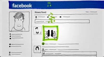 Intégration Spotify Facebook