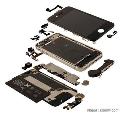 Pièces de iPhone 4S