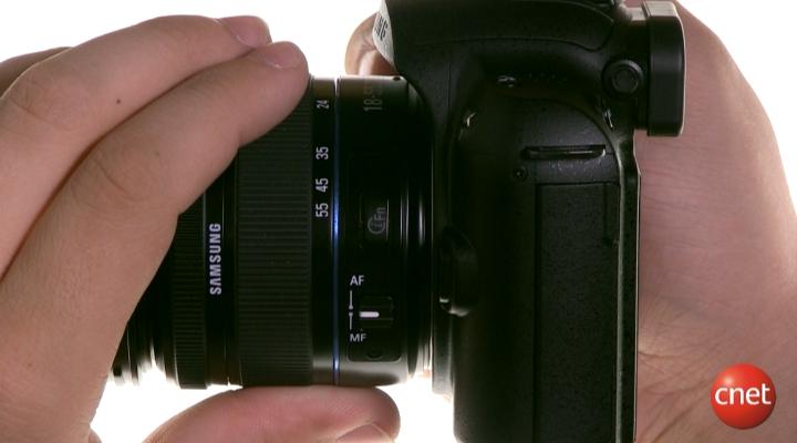 Démo du Samsung NX11