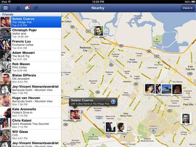 Facebook pour iPad