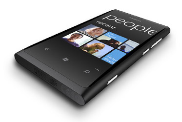 La Nokia Lumia 800